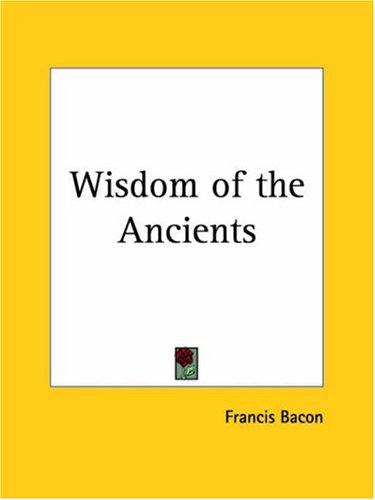 Download Wisdom of the Ancients