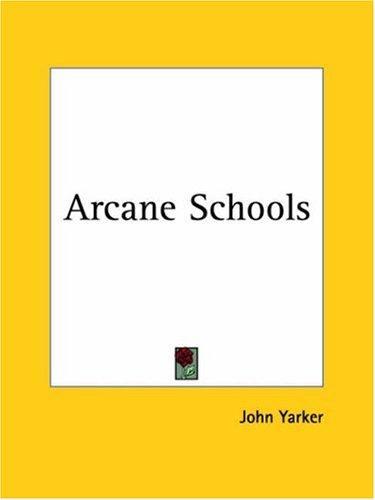 Download Arcane Schools