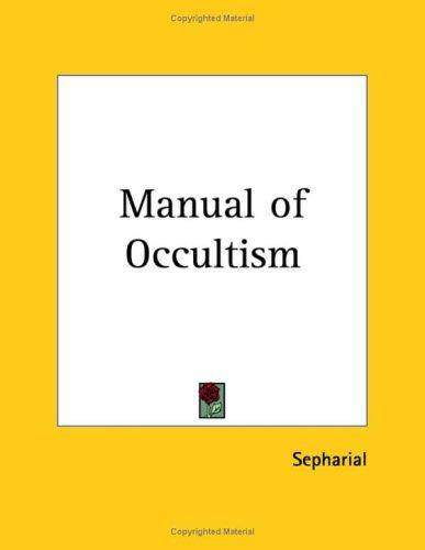 Manual of Occultism