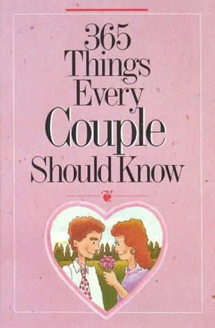 Download 365 things every couple should know
