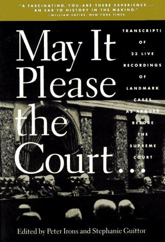 Download May It Please the Court