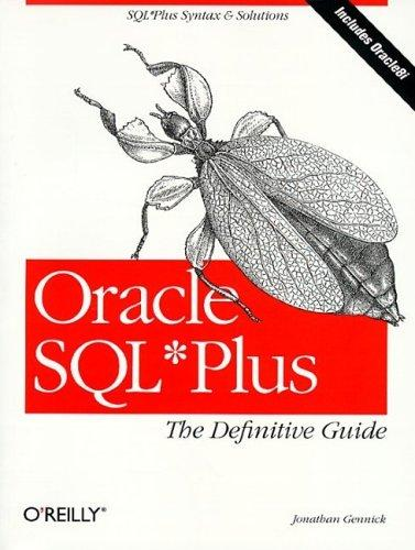 Oracle SQL*Plus