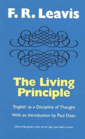 The living principle