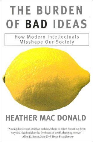 Download The Burden of Bad Ideas