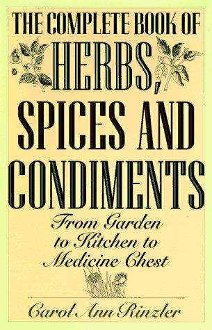 Download Complete Book of Herbs, Spices and Condiments