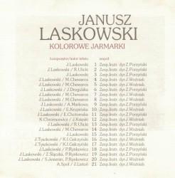 Janusz Laskowski - Żółty liść