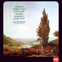 Symphony No. 3, Faust Overture by Robert Schumann  ;   Otto Klemperer  &   Philharmonia Orchestra