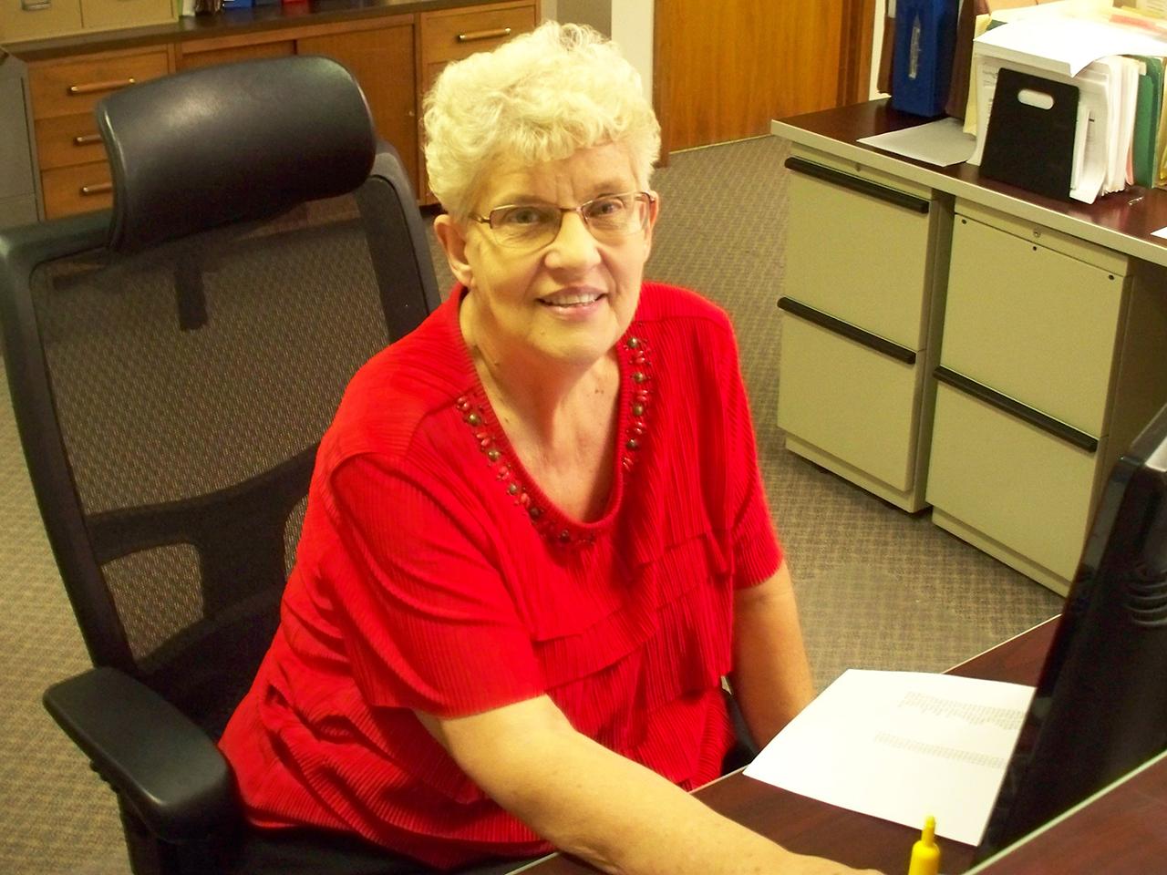 Village of Newark thanks Eleanor Palermo for 15 years of service as Deputy Clerk/Treasurer