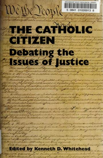 Cover of: The Catholic citizen | Fellowship of Catholic Scholars. Convention